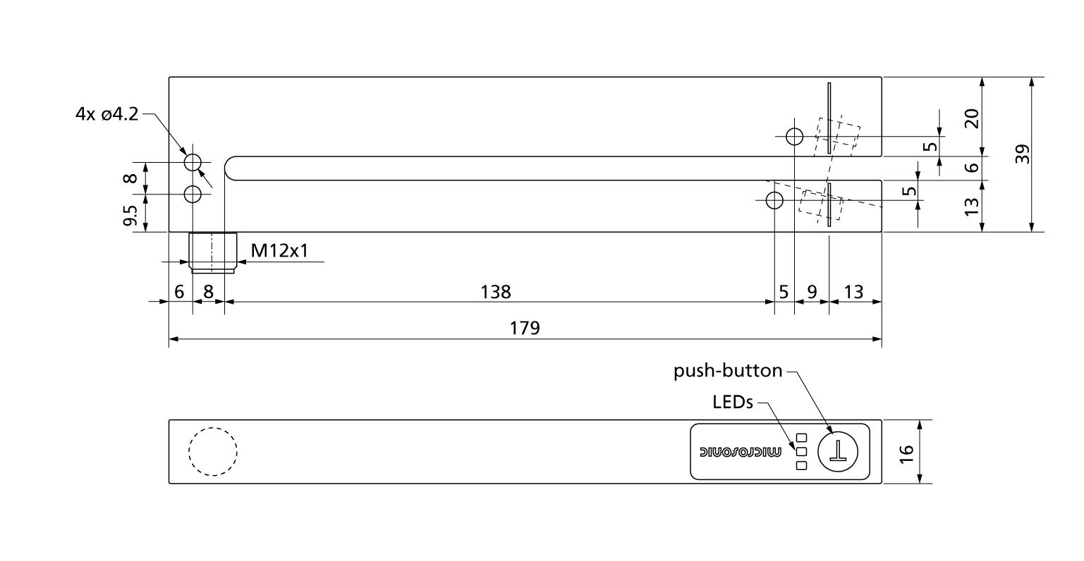 liste des capteurs esf 1 15 cdf microsonic capteur ultrason. Black Bedroom Furniture Sets. Home Design Ideas