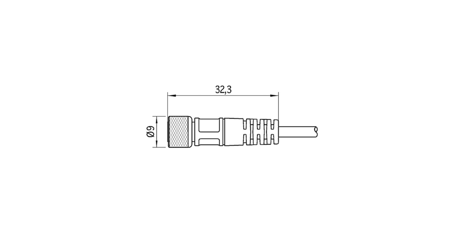 c bles kst4g 2 m8 microsonic capteur ultrason. Black Bedroom Furniture Sets. Home Design Ideas